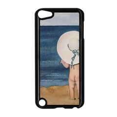 Mom s White Hat Apple iPod Touch 5 Case (Black)