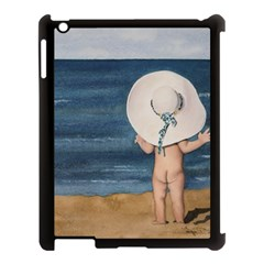 Mom s White Hat Apple iPad 3/4 Case (Black)
