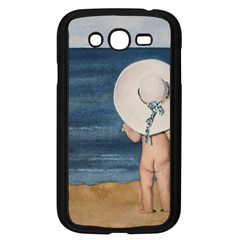 Mom s White Hat Samsung Galaxy Grand DUOS I9082 Case (Black)