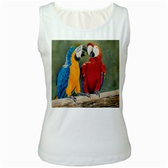 Feathered Friends Women s Tank Top (White)
