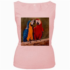 Feathered Friends Women s Tank Top (Pink)
