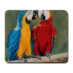 Feathered Friends Large Mouse Pad (Rectangle)