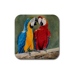 Feathered Friends Drink Coasters 4 Pack (Square)