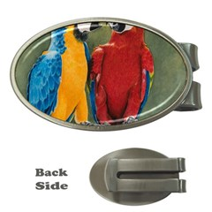 Feathered Friends Money Clip (oval)