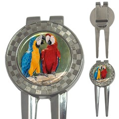 Feathered Friends Golf Pitchfork & Ball Marker