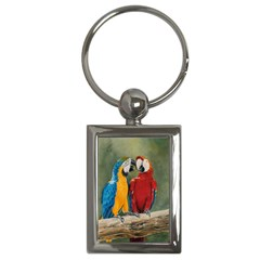 Feathered Friends Key Chain (Rectangle)