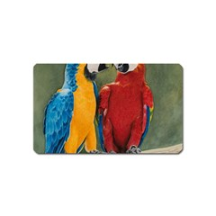 Feathered Friends Magnet (Name Card)