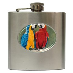 Feathered Friends Hip Flask