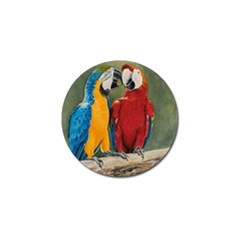 Feathered Friends Golf Ball Marker 4 Pack