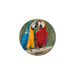 Feathered Friends Golf Ball Marker 10 Pack