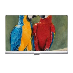 Feathered Friends Business Card Holder