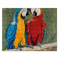 Feathered Friends Jigsaw Puzzle (Rectangle)