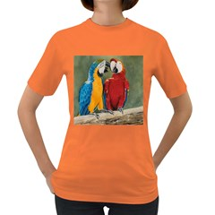 Feathered Friends Women s T-shirt (Colored)