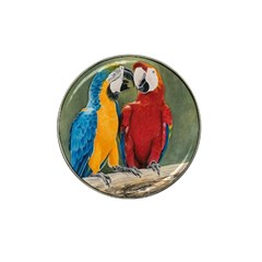 Feathered Friends Golf Ball Marker (for Hat Clip)
