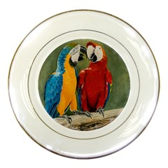 Feathered Friends Porcelain Display Plate