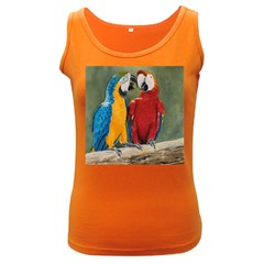 Feathered Friends Women s Tank Top (Dark Colored)
