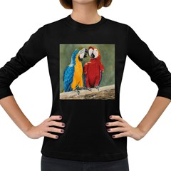 Feathered Friends Women s Long Sleeve T Shirt (dark Colored)