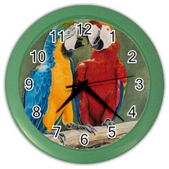 Feathered Friends Wall Clock (color)