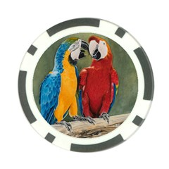 Feathered Friends Poker Chip
