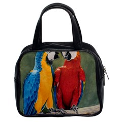 Feathered Friends Classic Handbag (two Sides)