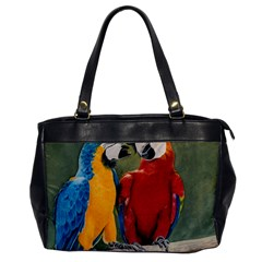 Feathered Friends Oversize Office Handbag (one Side)
