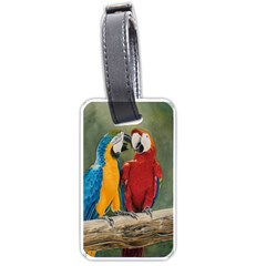 Feathered Friends Luggage Tag (two Sides)