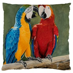 Feathered Friends Large Cushion Case (Two Sided)