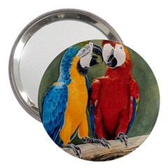 Feathered Friends 3  Handbag Mirror
