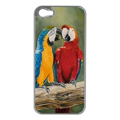 Feathered Friends Apple Iphone 5 Case (silver)