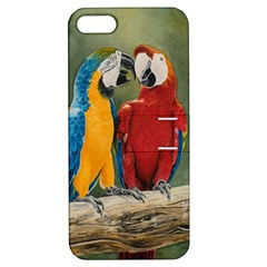 Feathered Friends Apple Iphone 5 Hardshell Case With Stand