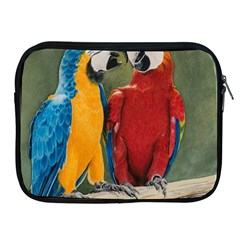 Feathered Friends Apple Ipad Zippered Sleeve