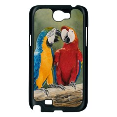 Feathered Friends Samsung Galaxy Note 2 Case (Black)