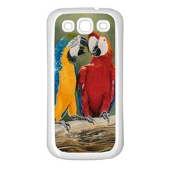 Feathered Friends Samsung Galaxy S3 Back Case (White)