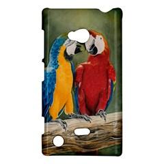 Feathered Friends Nokia Lumia 720 Hardshell Case