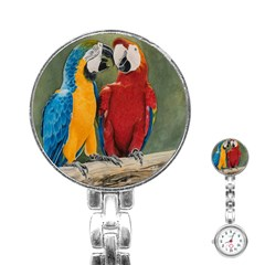 Feathered Friends Stainless Steel Nurses Watch