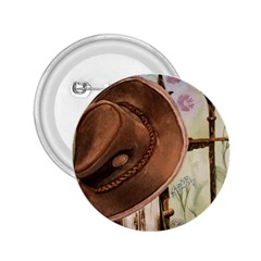 Hat On The Fence 2.25  Button