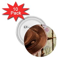 Hat On The Fence 1 75  Button (10 Pack)