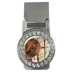 Hat On The Fence Money Clip (CZ)