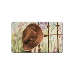 Hat On The Fence Magnet (Name Card)