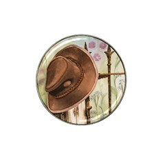 Hat On The Fence Golf Ball Marker 4 Pack (for Hat Clip)