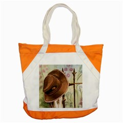 Hat On The Fence Accent Tote Bag