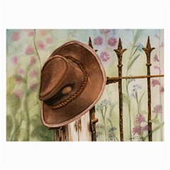 Hat On The Fence Glasses Cloth (large)