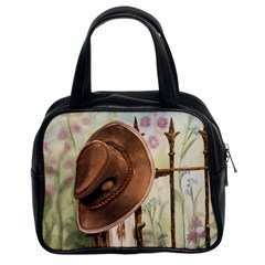 Hat On The Fence Classic Handbag (Two Sides)