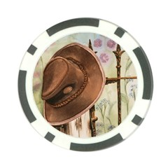 Hat On The Fence Poker Chip (10 Pack)