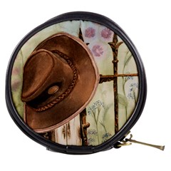 Hat On The Fence Mini Makeup Case