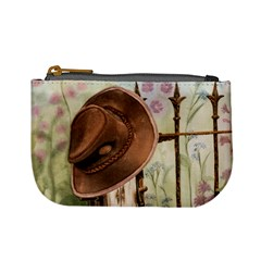 Hat On The Fence Coin Change Purse