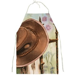 Hat On The Fence Apron