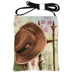 Hat On The Fence Shoulder Sling Bag