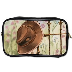 Hat On The Fence Travel Toiletry Bag (Two Sides)