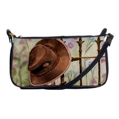 Hat On The Fence Evening Bag